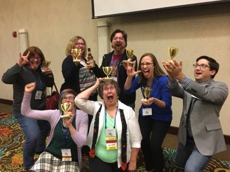 winning trivia team