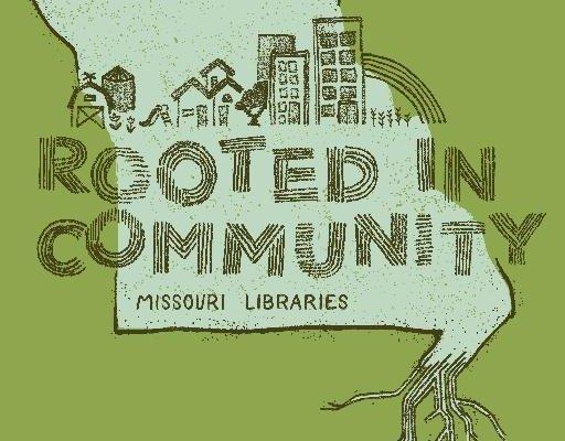 2016 missouri library association conference logo